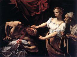 Judith y Holorfenes, Caravaggio
