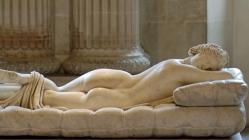 Hermafrodito durmiendo