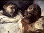 Estudio de dos cabezas, Géricault