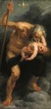 Saturno devorando a sus hijos, Rubens