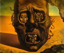 La cara de la guerra, Dalí