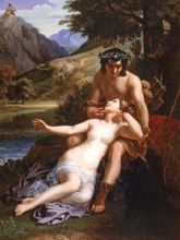 Acis y Galatea - Cabanel
