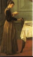 Chica leyendo - Valentine Cameron Prinsep