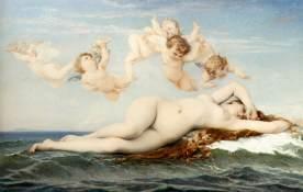 El nacimiento de Venus - Cabanel
