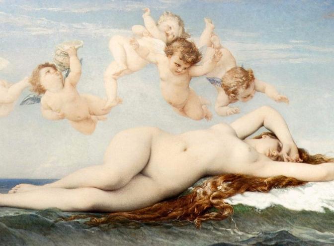 El mito griego en la obra pictórica de Alexandre Cabanel