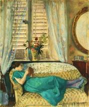 Mujer leyendo - Labasque