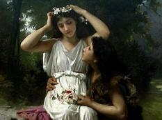 Daphnis and Chloe - Adolphe Bouguereau
