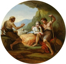 Daphnis and Chloe - Antonio Zucchi