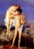 Daphnis and Chloe - Charles Gleyr