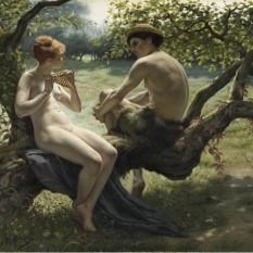 Daphnis and Chloe - Gaston Renault