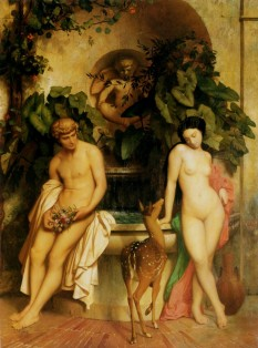 Daphnis and Chloe - Jean-Leon Gêrome