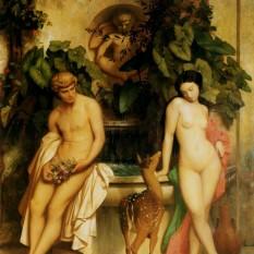 Daphnis and Chloe - Jean-Leon Gêrome