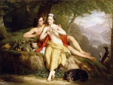 Daphnis and Chloe - Louis Hersent