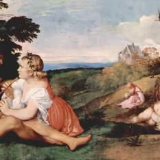 Daphnis and Chloe - Tiziano