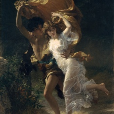 The Storm, Pierre Auguste Cot