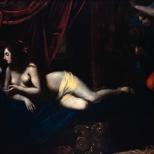 Franceso Furini - Giges en la alcoba de Candaules