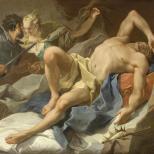 G.B. Pittoni King Candaules's death