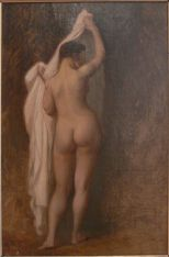 Jean-Leon Gerome Nude from behind (Study for King Candaule)