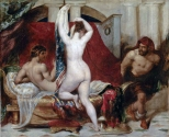 Candaules, King of Lydia, Shews his Wife by Stealth to Gyges, One of his Ministers, as She Goes to Bed exhibited 1830 William Etty 1787-1849 Presented by Robert Vernon 1847 http://www.tate.org.uk/art/work/N00358