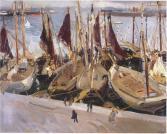 Barcos de pesca en el puerto - Sorolla