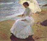 Clotilde en la playa - Sorolla
