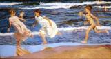 Corriendo por la playa - Sorolla