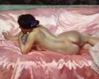 Desnudo de mujer - Sorolla
