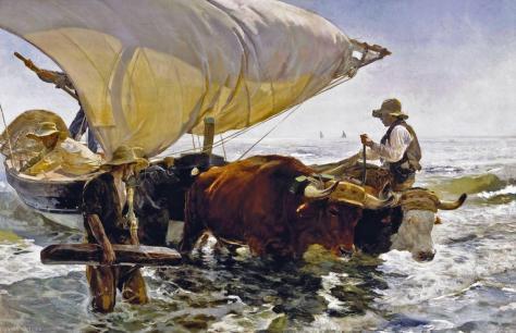 La vuelta de la Pesca - Sorolla