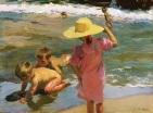 Niños a la orilla del mar - Sorolla