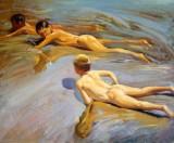 Niños en la playa - Sorolla