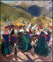 Aragón la jota - Sorolla