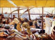Ayamonte, la pesca del atún - Sorolla