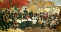 Castilla la fiesta del pan - Sorolla