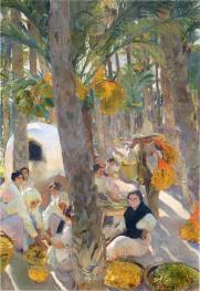 Elche, el palmeral - Sorolla