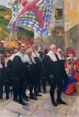 Navarra el concejo del roncal - Sorolla