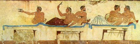 Parejas pederastas - Colonia griega de Paestum