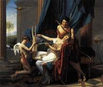Safo, Faón y El Amor - Jacques-Louis David