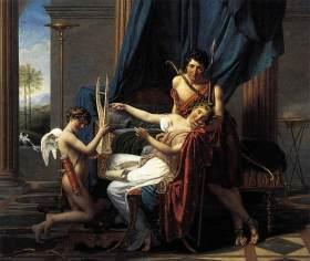 Safo, Faón y El Amor - Jacques-Louis David