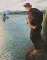 Safo - Gemälde von Ernst Stückelberg