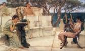 Safo y Alceo - Tadema