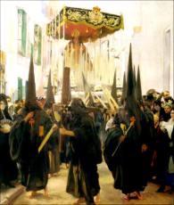 Sevilla los nazarenos - Sorolla