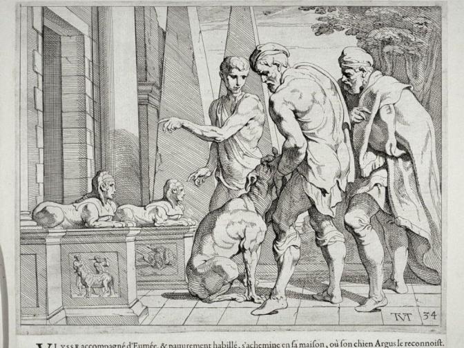 La sempiterna espera de Argos, el mejor amigo de Ulises