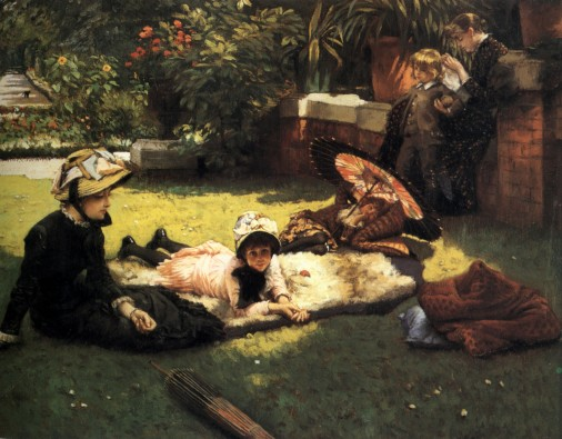 James_Tissot_-_In_the_Sunshine