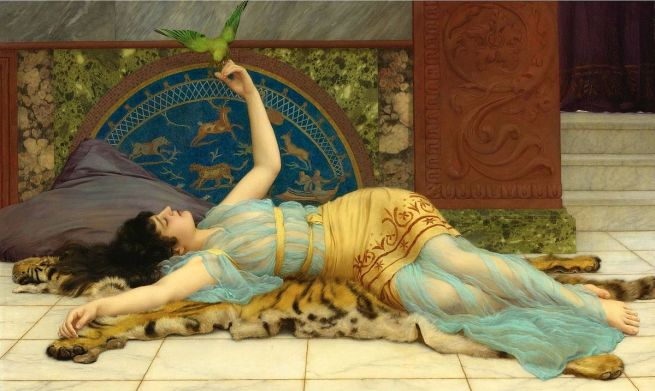 John_William_Godward_-_Dolce_Far_Niente_(1897)