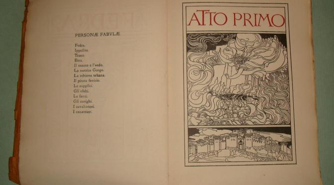 El rastro de Fedra en la literatura italiana