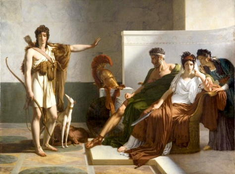 Phaedra and Hippolytus 1815, Pierre-narcise, Baron Guerin